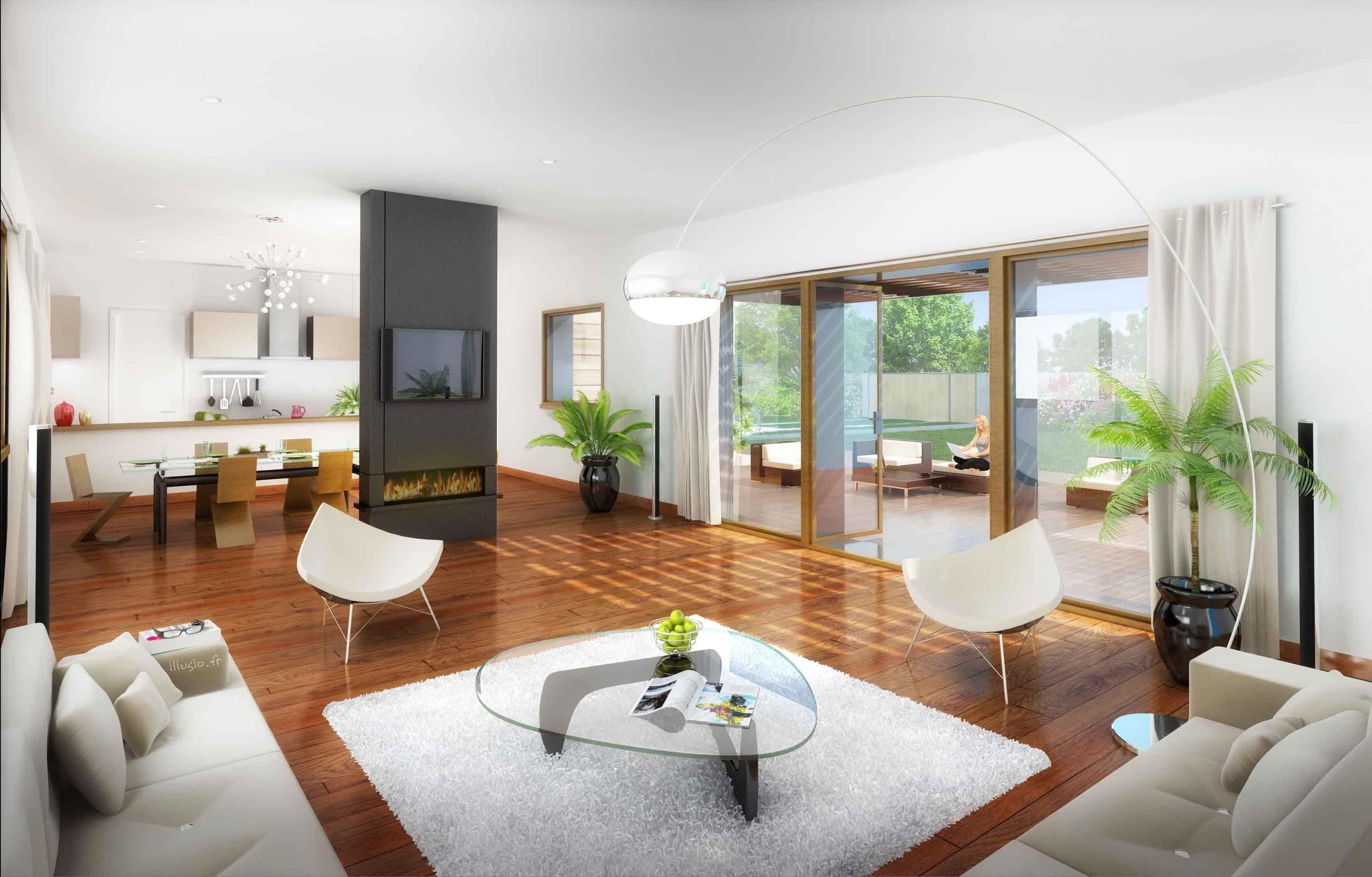 Belle Maison Moderne Interieur