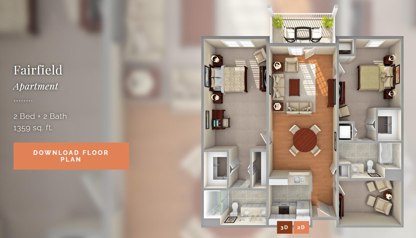 Fairfield Apartment Apartment Fairfield Floor Plans