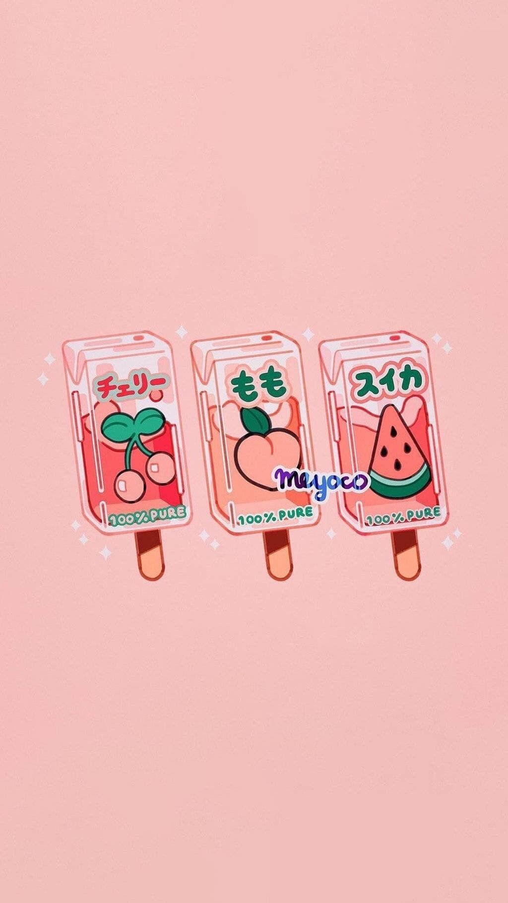 Food Cartoon Wallpaper Iphone Food Cartoon Cute Art Wallpaper Iphone Cute Kawaii Wallpaper