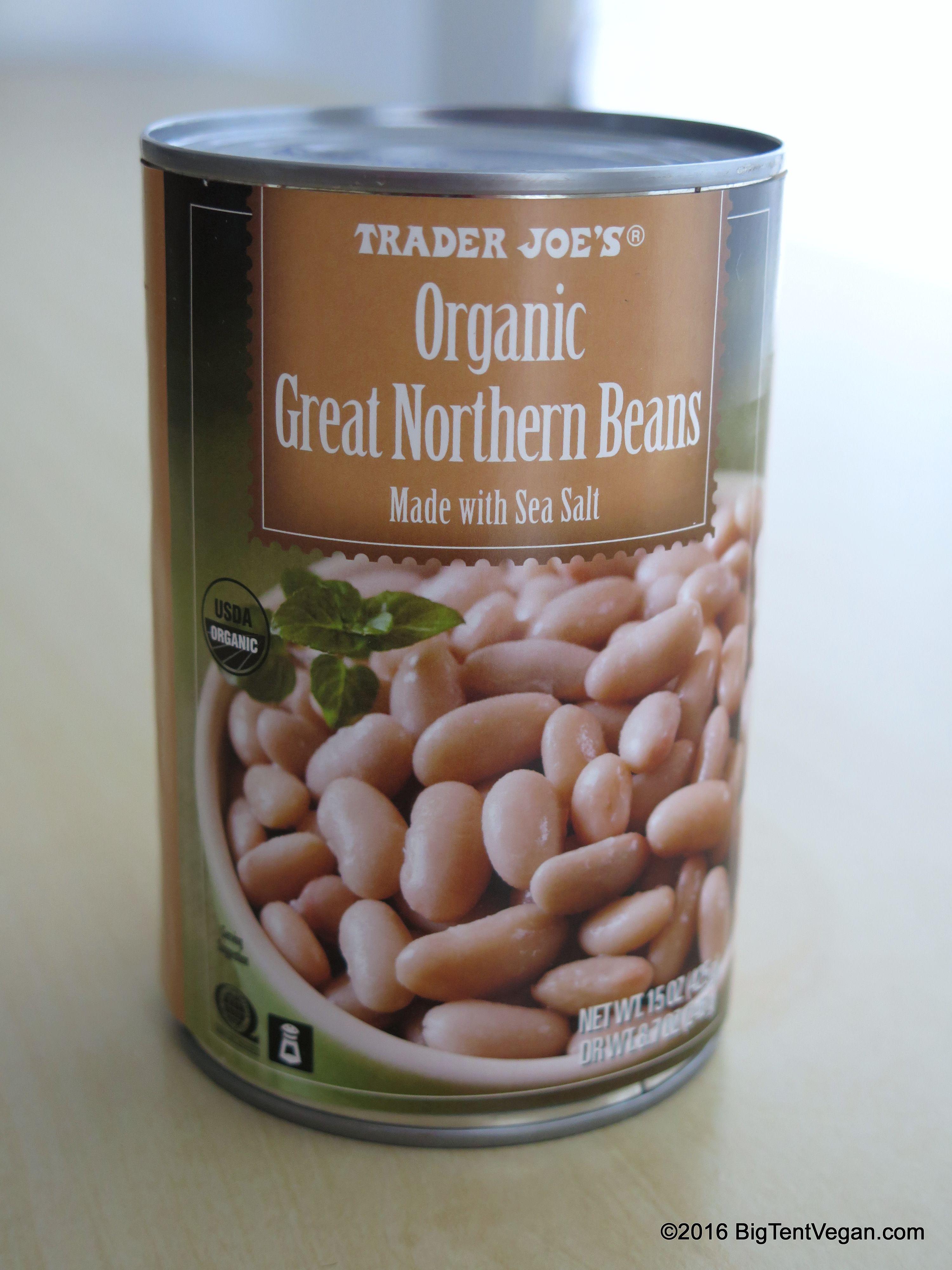 Organic Great Northern Beans Traderjoes Trader Joes Vegan Great Northern Beans Northern Beans
