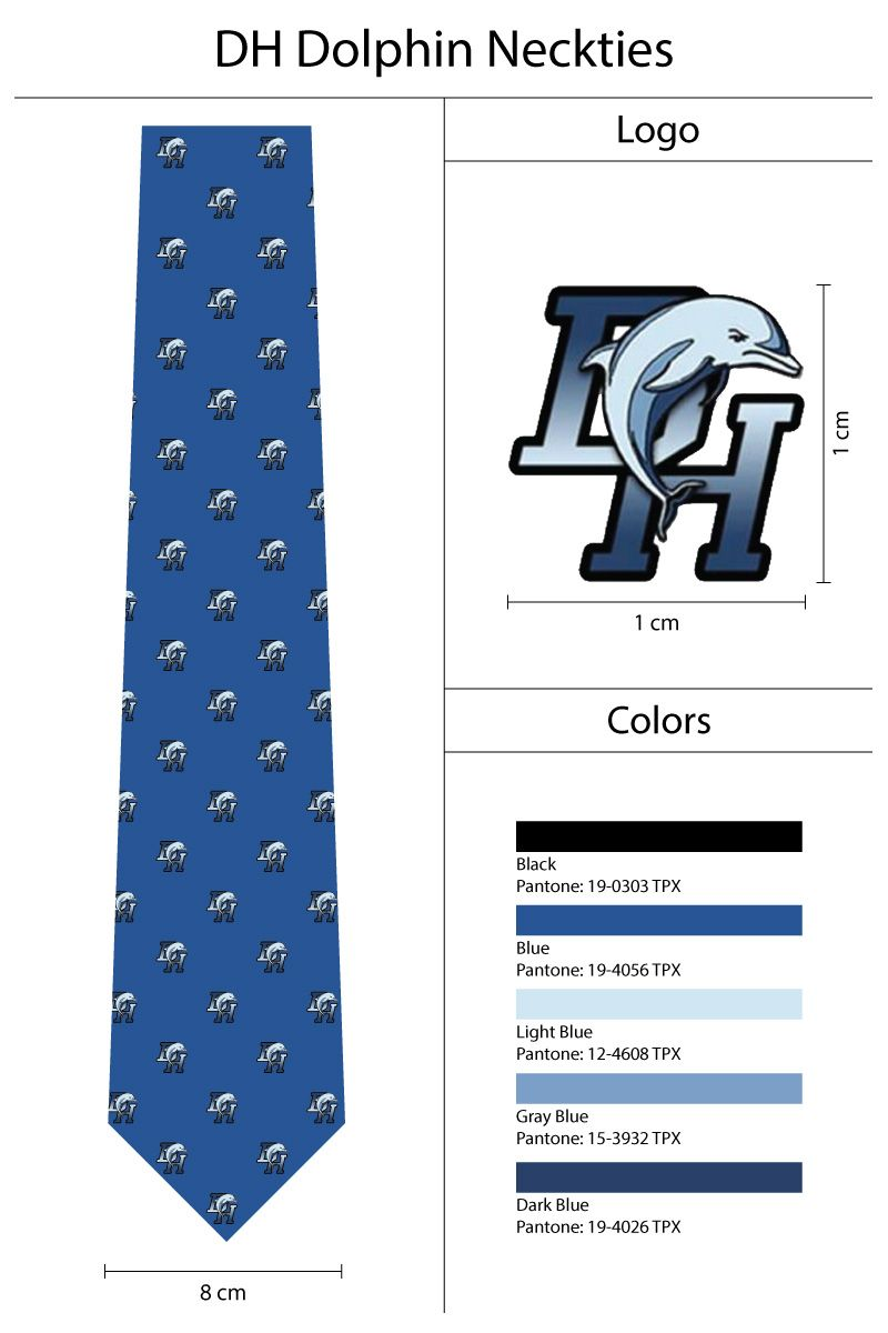 7d53300eb901 custom logo necktie spec sheet | Our Custom Ties + Scarves | Custom ...