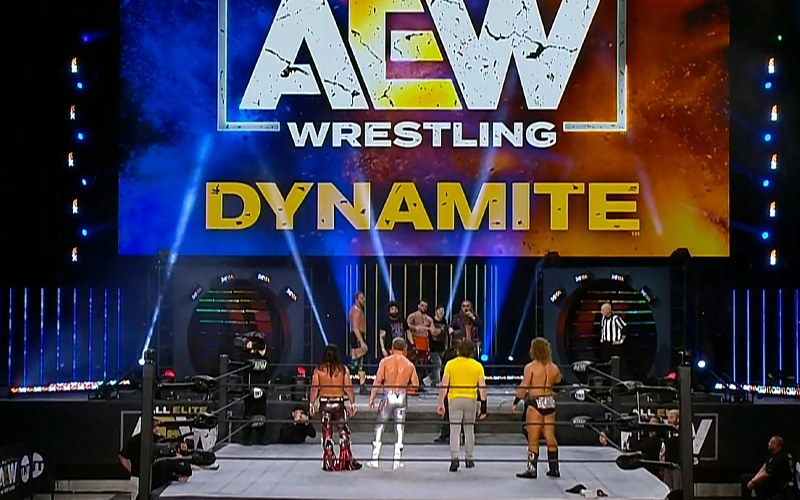 How AEW Avoided Exceeding 50 Person Limit During Dynamite