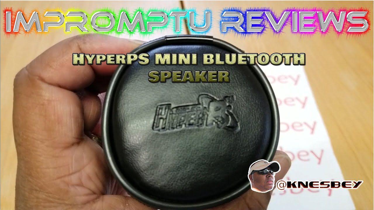 HyperPS MINI BLUETOOTH SPEAKER in 2020 Mini bluetooth