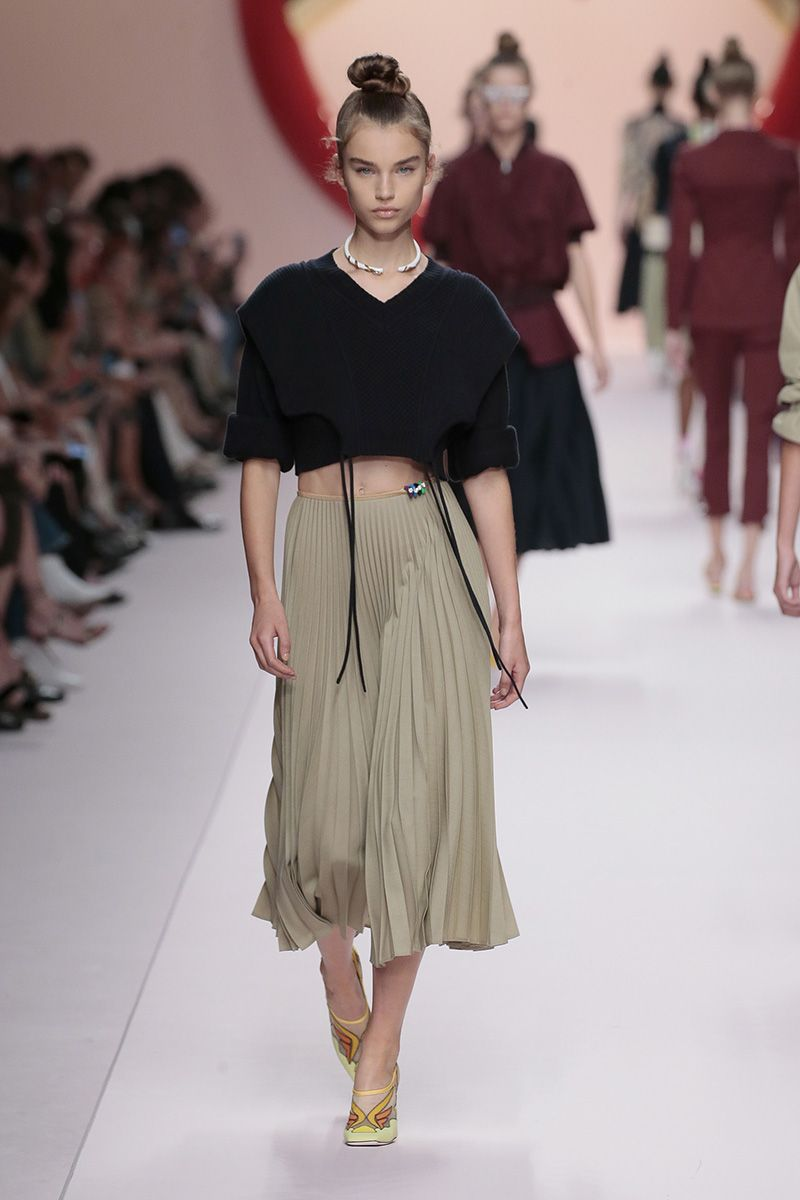 0bf0023ddce Fendi Women's Spring/Summer 2019 Fashion Show | Fashion Shows in ...