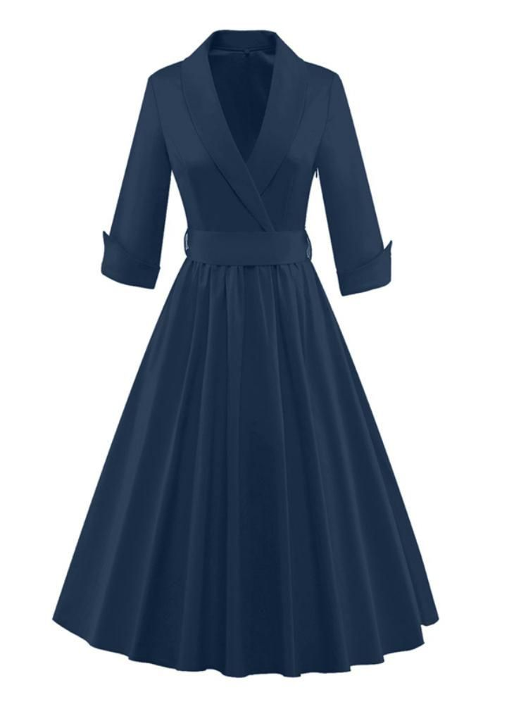 Rockabilly Party Ball Prom Gown Pinup Notched – Lilacoo ...