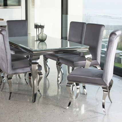 41+ Glass dining room table and chairs Various Types