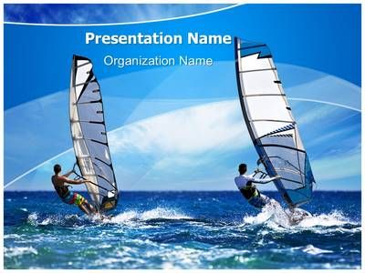 Windsurfing Powerpoint Template Is One Of The Best Powerpoint