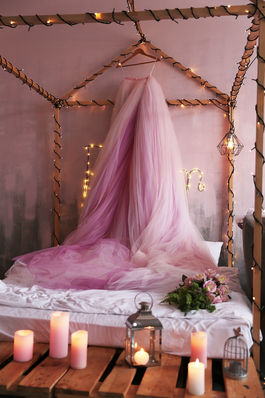 Detachable tulle bridal skirt overskirt with long train