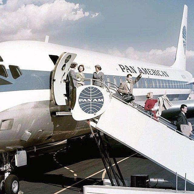 Typical Pan Am Jet Clipper DC-8
