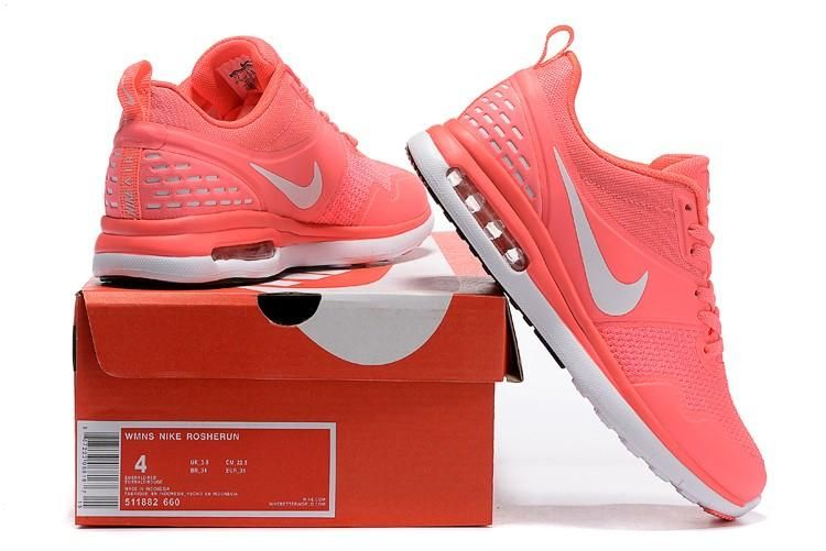 arriving best cheap latest design Nike Roshe Run III 3 Womens Shoes Light Peach Red White 02 2 ...