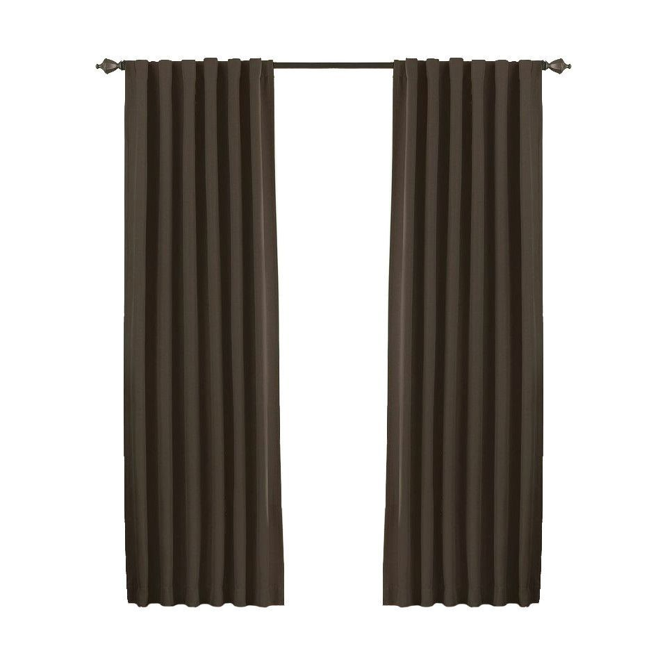 McCordsville Rod Pocket Blackout Thermal Single Curtain Panel