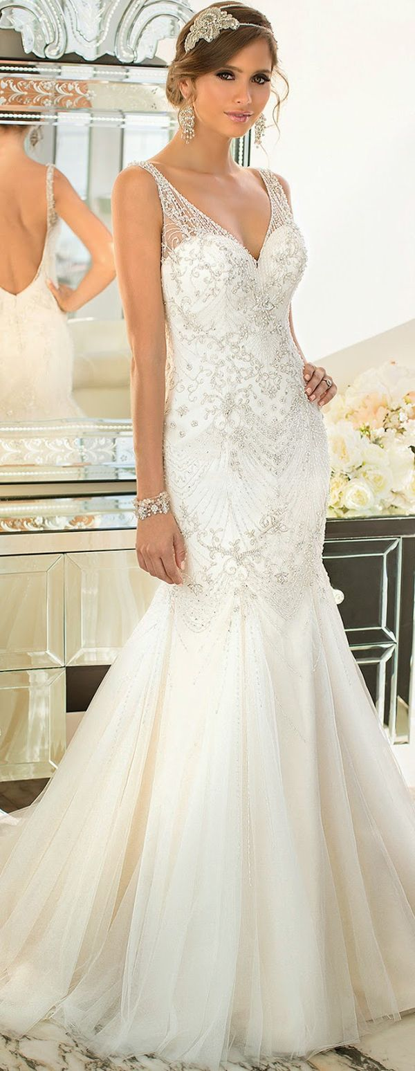 Vestido de novia bridal dress weddings pinterest dresses