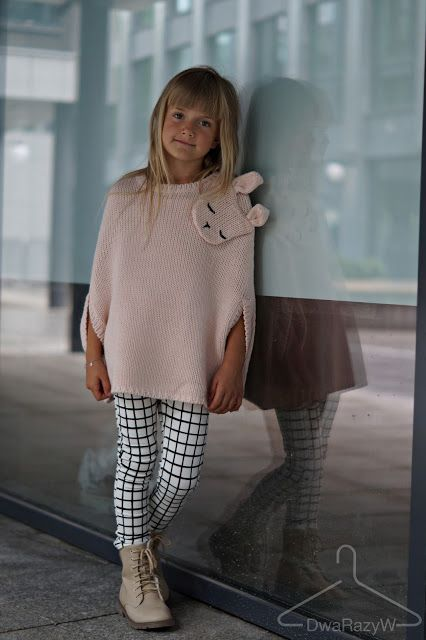 Jedyny Blog O Modzie Dzieciecej Widzianej Oczami Dziecka Moda Dla Dzieci I Nastolatek Jesienne Poncho Baby Girl Clothes Girl Outfits Outfits