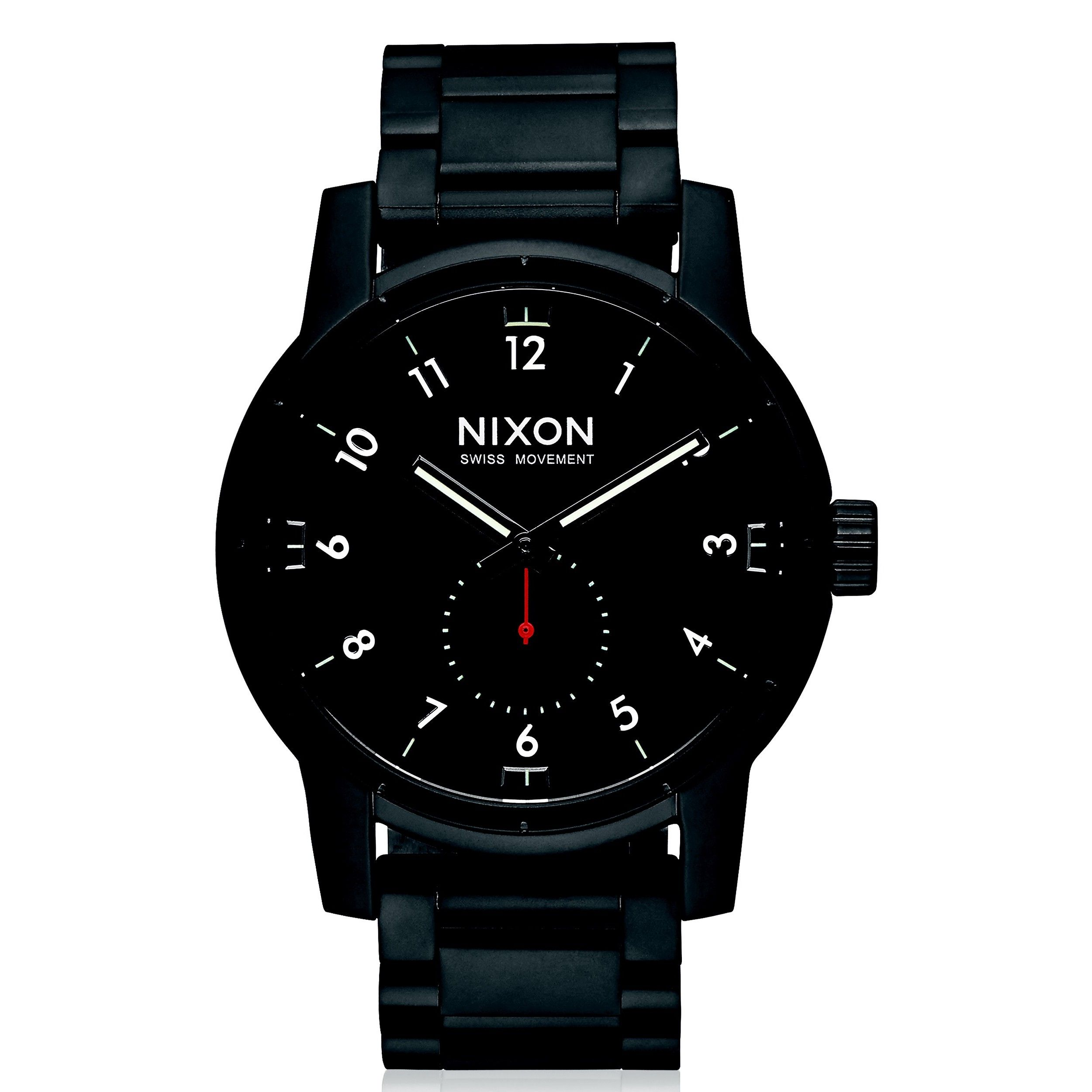 Nixon Steele Tops: NIXON Patriot Stainless Steel Watch. #nixon #