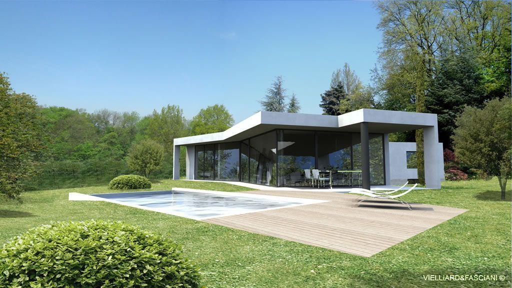 Plain Pied Contemporain : Maisons contemporaines plain pied architecture design