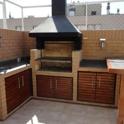 Resultado de imagen para modelos de quinchos de ladrillos for Modelos de cocinas al aire libre