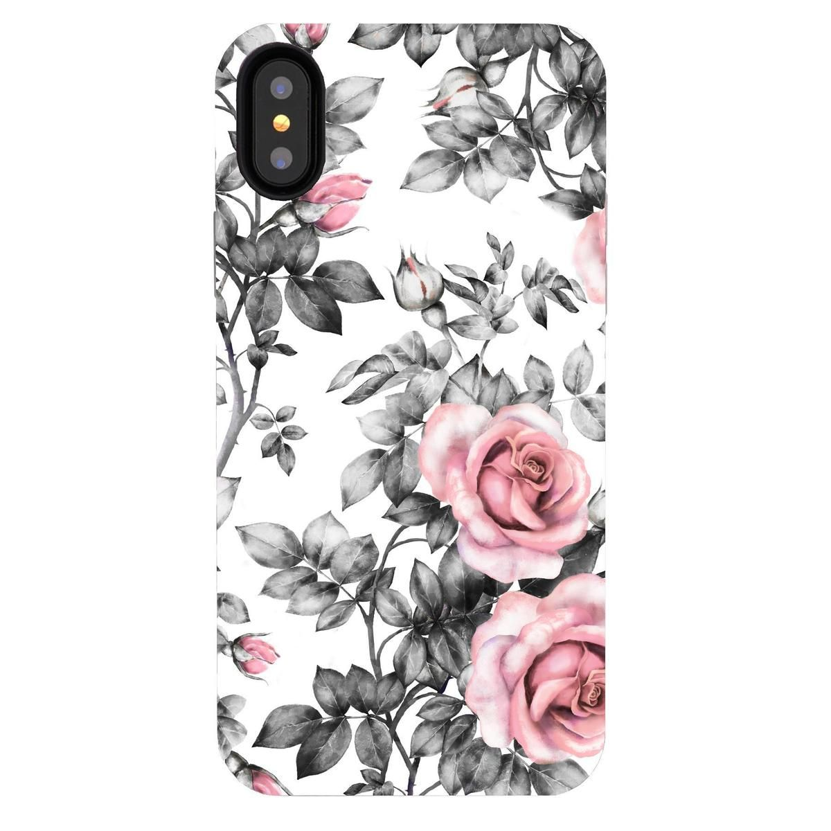 iPhone XS Max Case Chateau Rose Elemental Cases (With