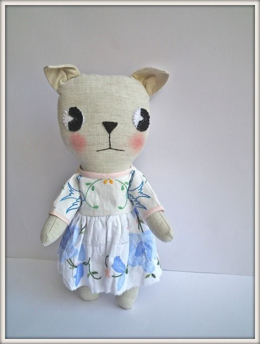 Small cat or elephant MADE TO ORDER.