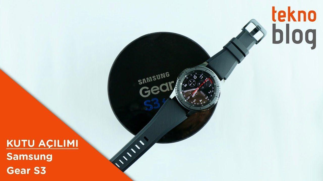 Video: Samsung Gear S3 Kutusundan Çıkıyor  http://www.teknoblog.com/samsung-gear-s3-kutu-acilimi-137370/