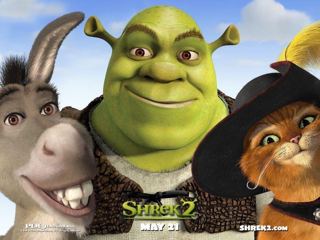 Shrek 2 Hd Wallpaper In 2020 Shrek Funny Films Shrek Donkey