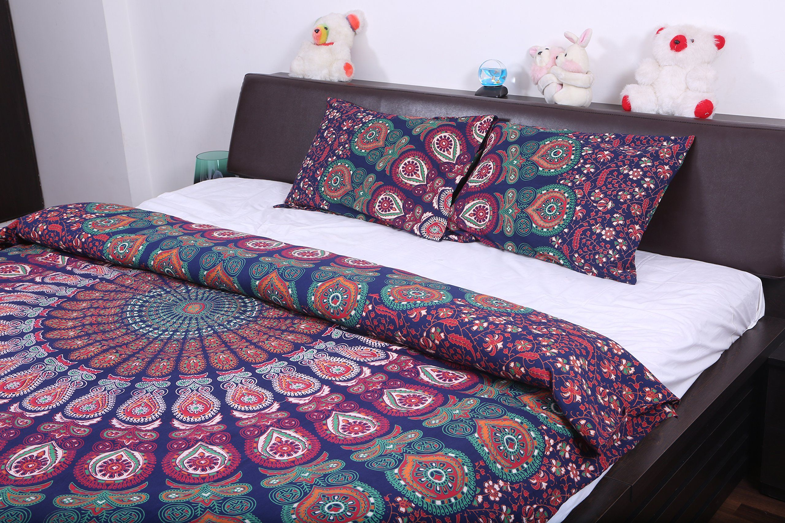 blue size kilim covers beautiful boho set deny new forter mermaid full monika duvet pattern really strigel ideas comforter cover of king lovely furniture
