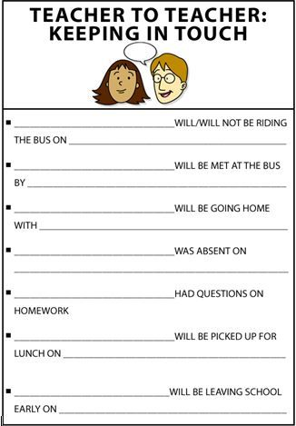 Teacher to teacher communication sheet is helpful in incorporating - call sheets template