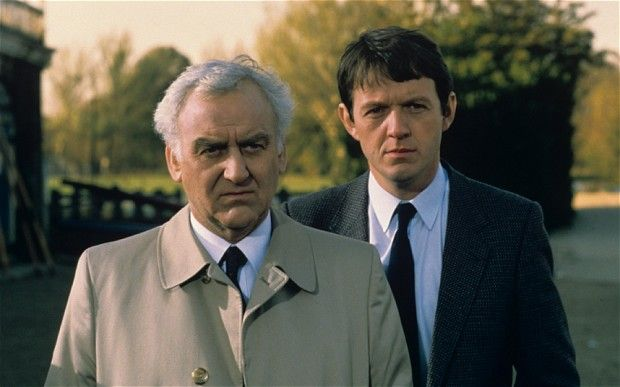 John Thaw And Kevin Whately In Inspector Morse Inspector Morse Kevin Whately The Sweeney