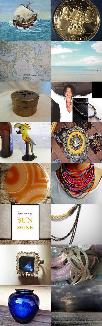 Salty Dog by lisa bodiker on Etsy--Pinned with TreasuryPin.com