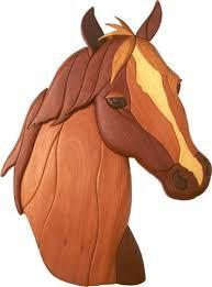 Resultado de imagem para horse pattern scroll saw