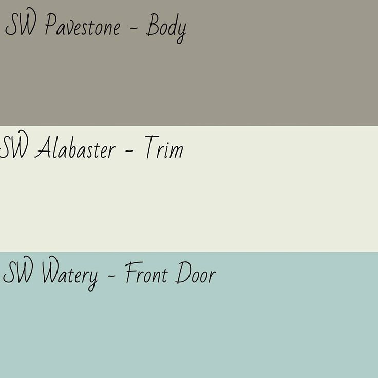 Image Result For Sherwin Williams Exterior Color Palette