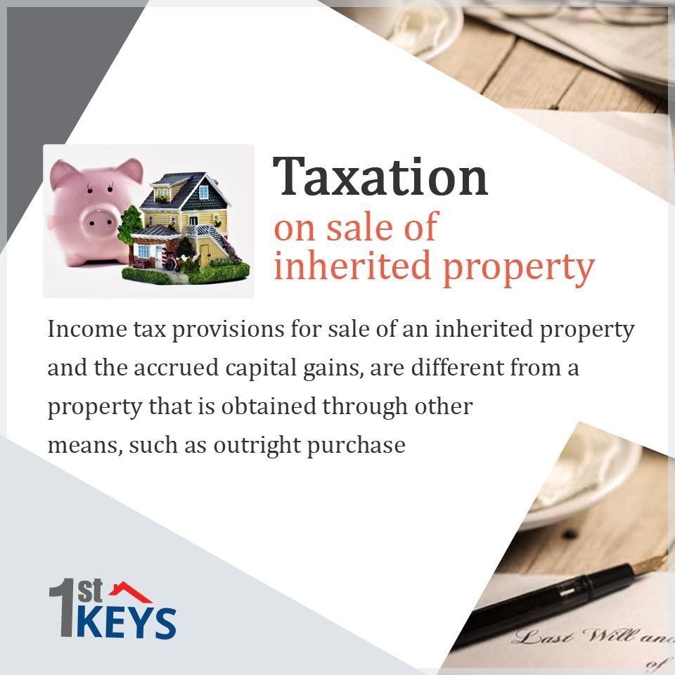 There Is Considerable Confusion Over The Taxes Applicable On The Sale Of An Inherited Property While Many Think Estate Planning Capital Gain Financial Advice