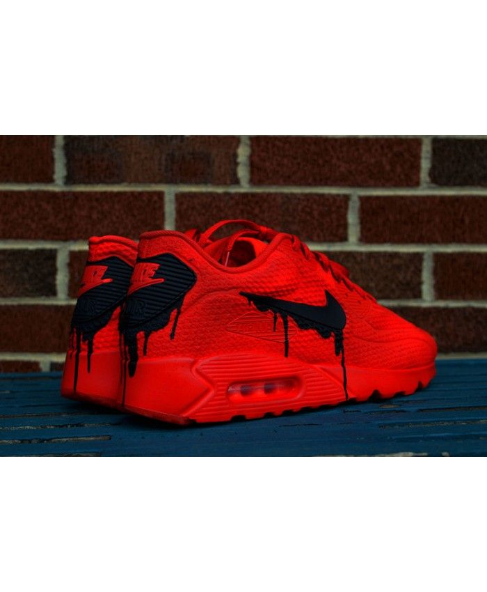 Buy Nike Air Max 90 Custom Candy Melt Red Shoes | Esthétique
