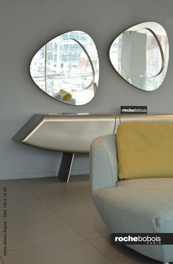 Rochebobois bogota showroom recibidor mueblemoderno for Espejos decorativos modernos bogota