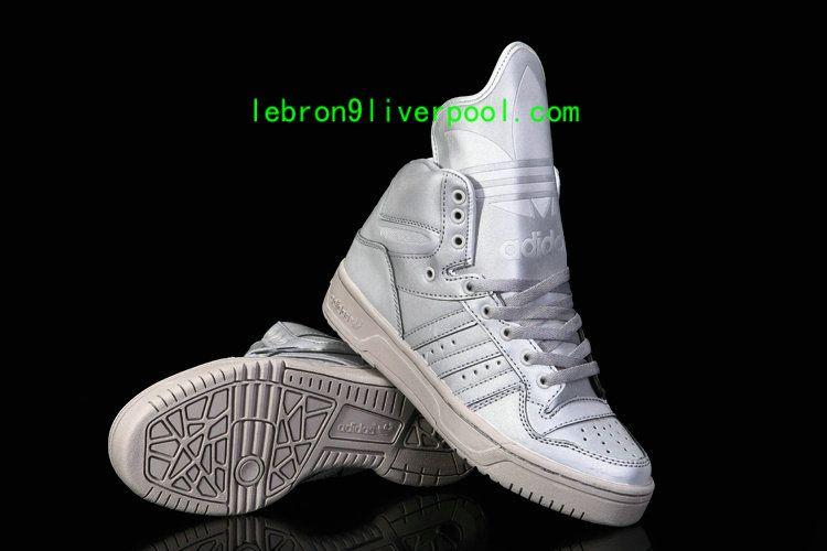 new concept 1ecad 1e881 Adidas x Jeremy Scott Metro Attitude Hi 3M Grey Glow in the Dark G61010