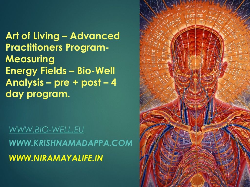 Advanced Practitioners Program - Bio Energy Report - ART of LIVING ...