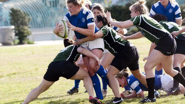 Camaraderie Draws Women To Rugby Rugby Women Surfer
