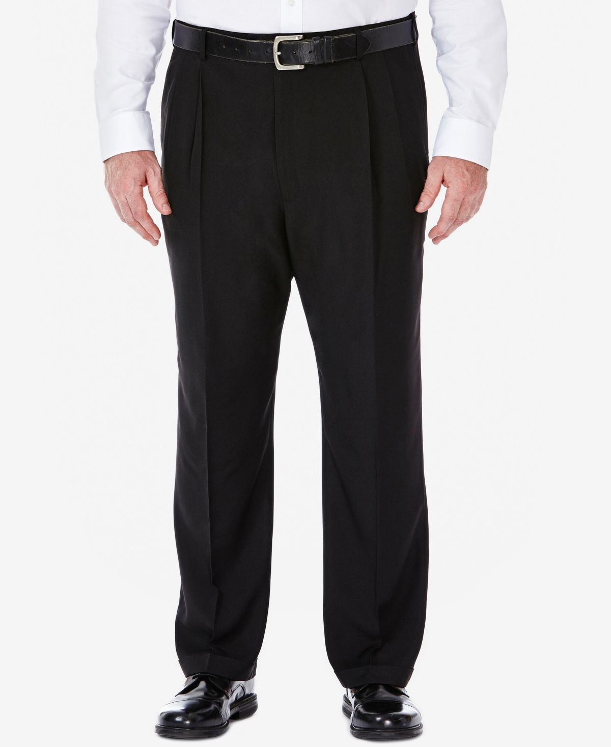 Haggar Men S Big Tall Eclo Stria Classic Fit Pleated Hidden Expandable Waistband Dress Pants Reviews Pants Men Macy S In 2021 Waistband Dress Dress Pants Mens Big And Tall [ 1466 x 1200 Pixel ]