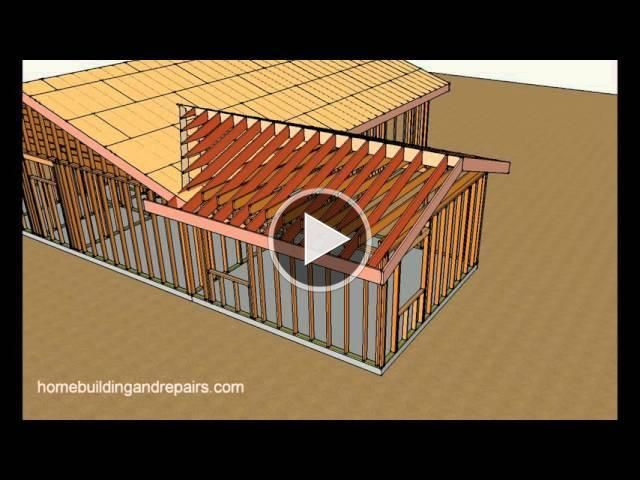 How To Attach Home Addition Roof Framing To Existing