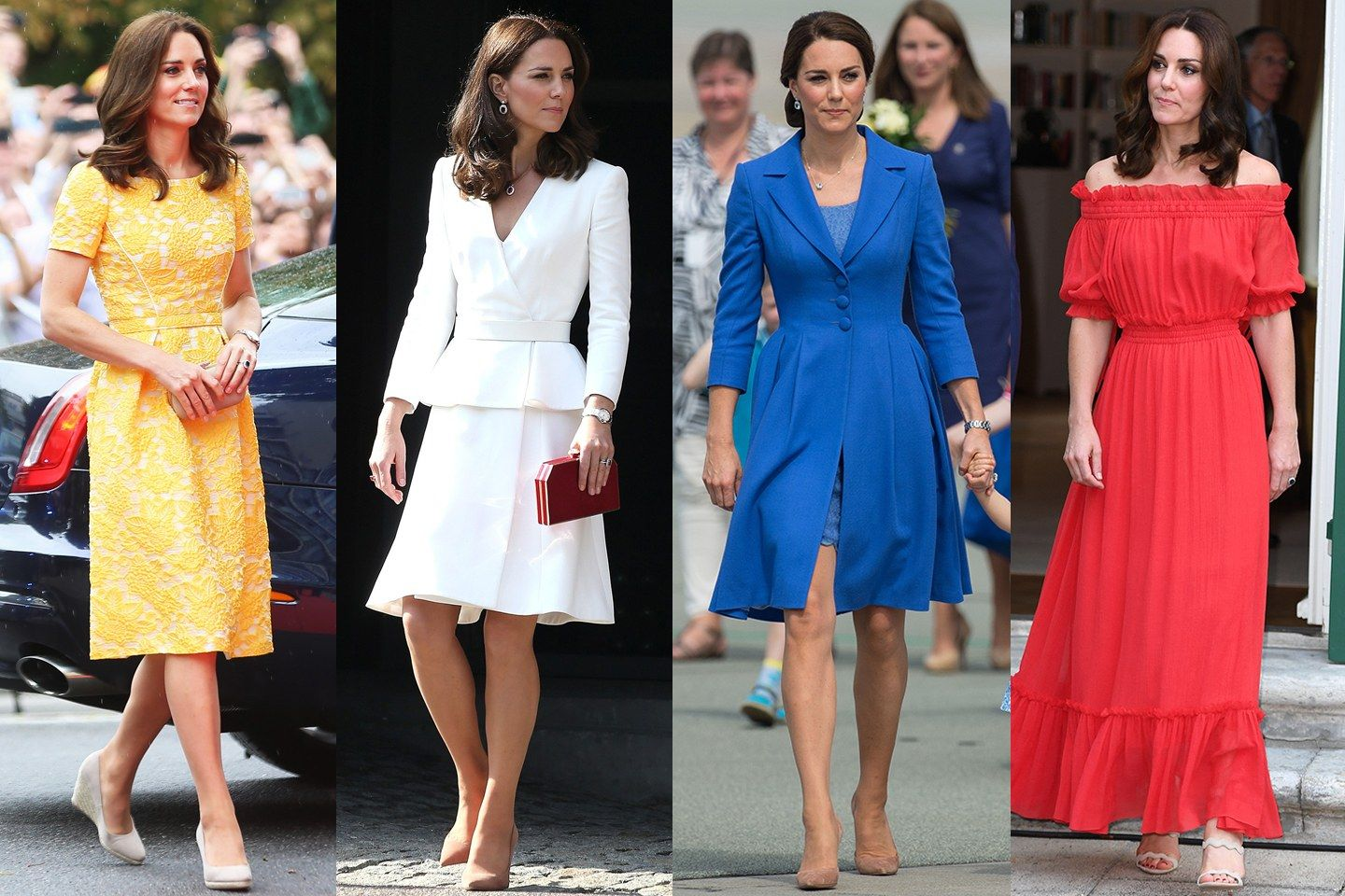 All of Kate Middleton's Looks on the 2017 Poland/Germany ...