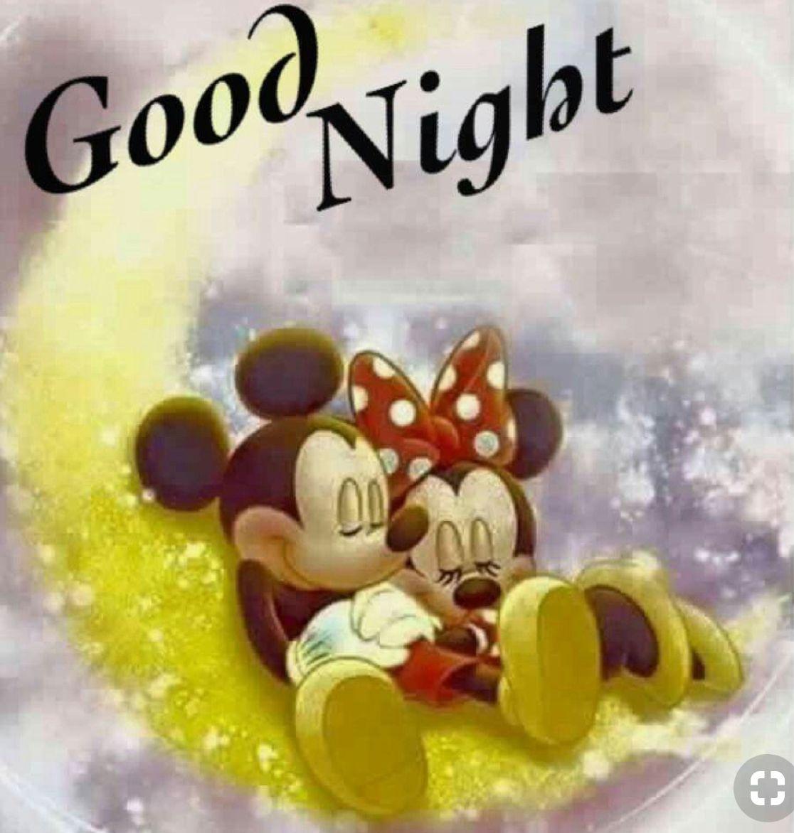 Good Night Mickey Maus Und Freunde Gute Nacht Disney Figuren