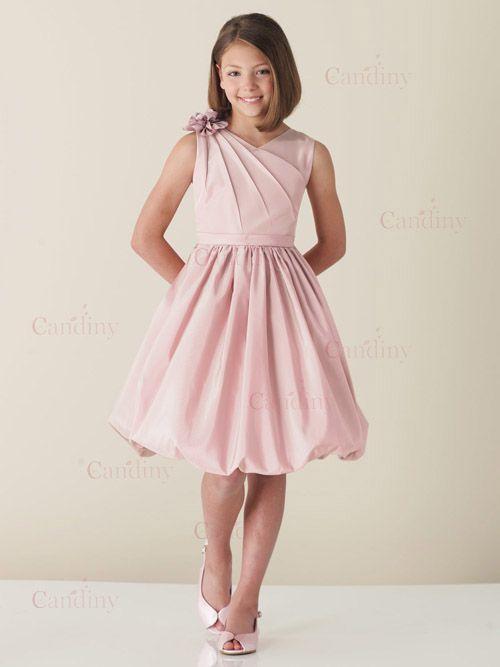 imagenes de vestidos de niña de matrimonio color rosa - Buscar con ...