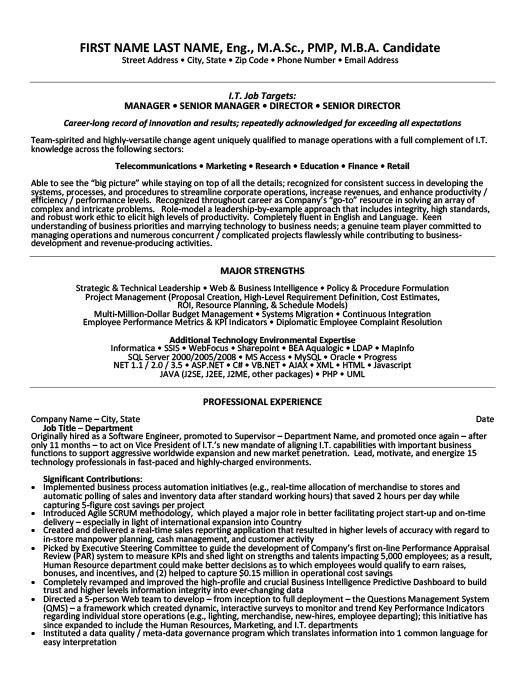 28 senior management resume templates enernovva org News to Go 2 - resume definition