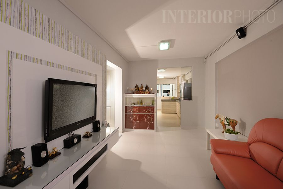 Bedok 3 Room Flat Hdb Home Interior Kitchen Living Room Bathroom Closet Renovatio Simple Interior Design Minimalist Apartment Interior Simple Interior