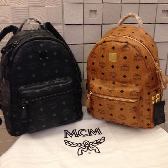Authentic Mcm 2017 New Arrival Small Backpack Material Python Visetos Pvc Size