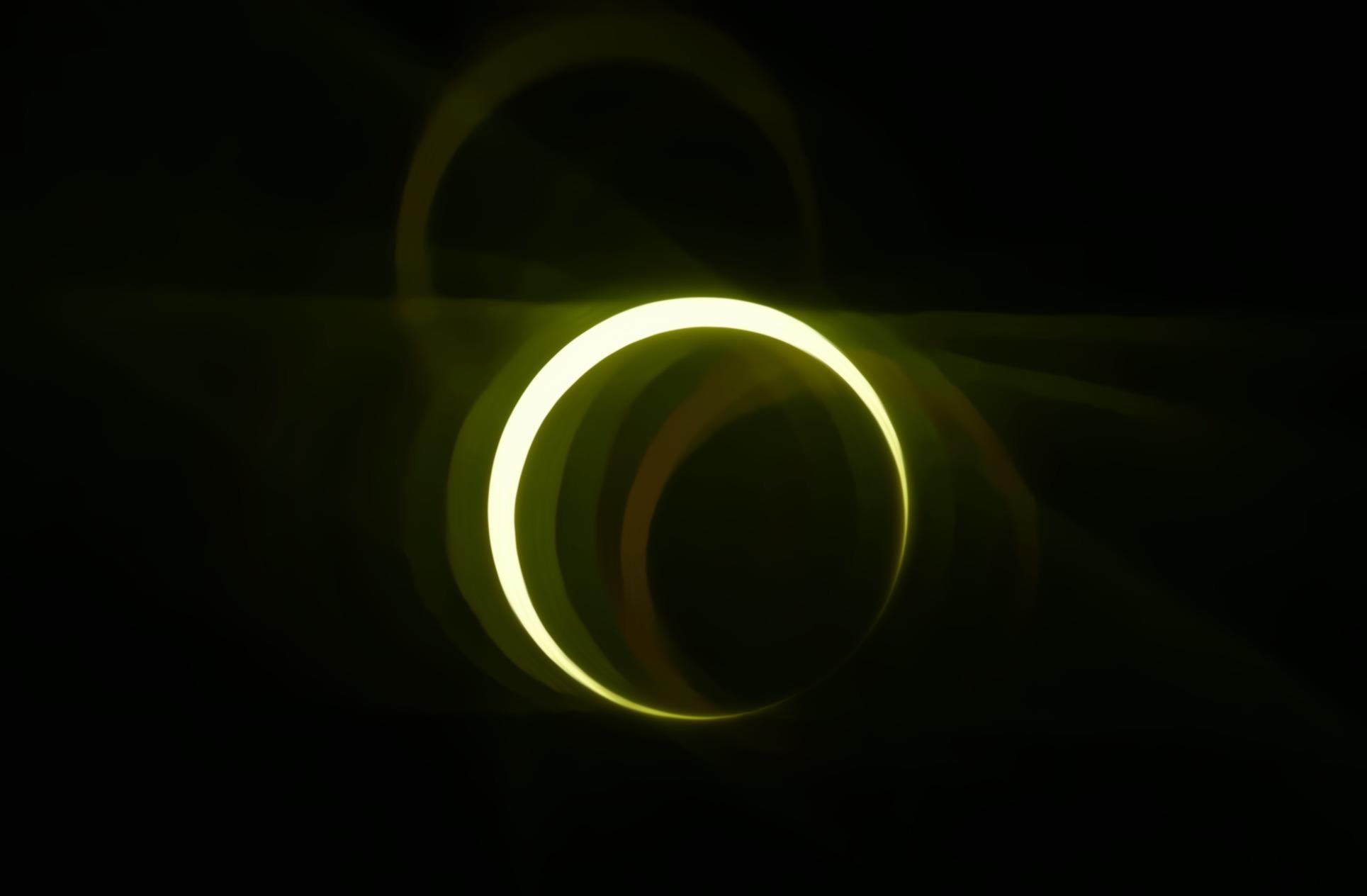 Eclipse photo taken by Adam Daly.