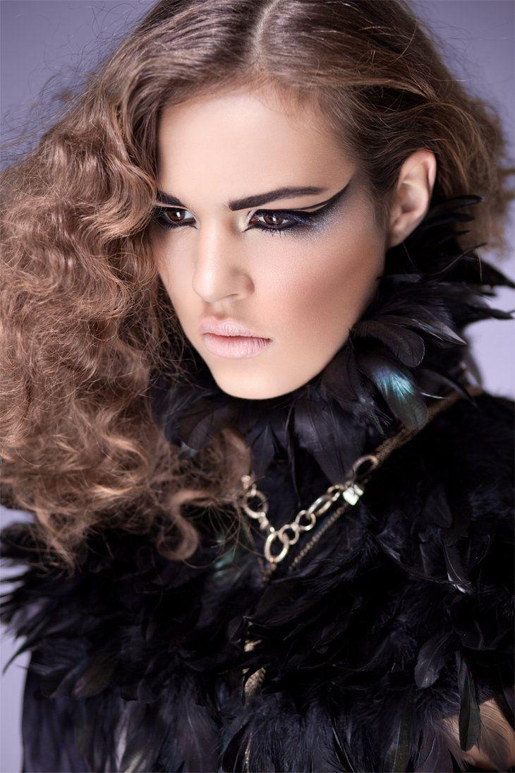 Three colours maquillajes y peinados pinterest