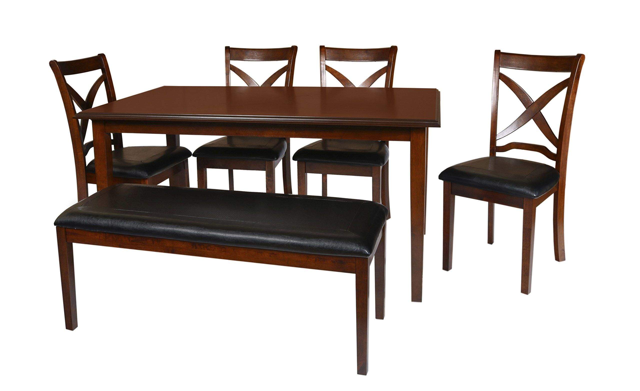 New Classic Milo 6 Piece Espresso Dining Set You Can Get