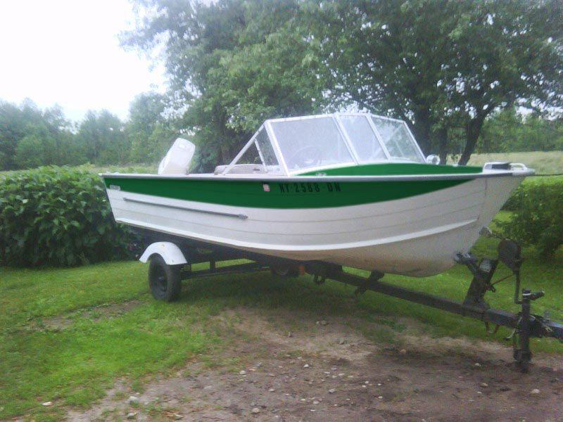 Restored Starcraft Boat