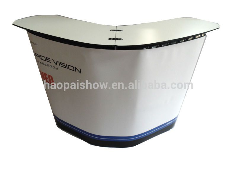 Portable Exhibition Table : Trade show display counter pop up promotion table ins