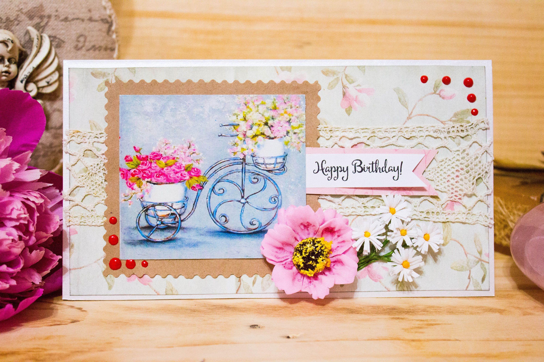 Romantic Birthday Card Luxury Elegant Card Funny Birthday Card Mum